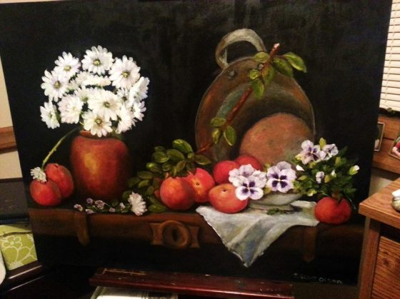 Apples, Peaches and a RustyTub*sold*